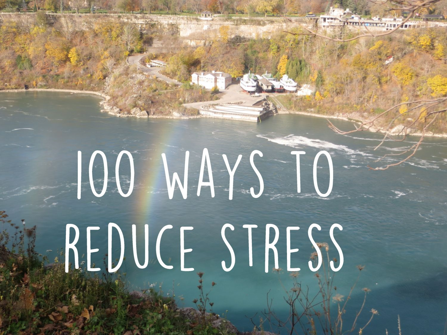 100 Ways To Reduce Stress by Uncustomary Art