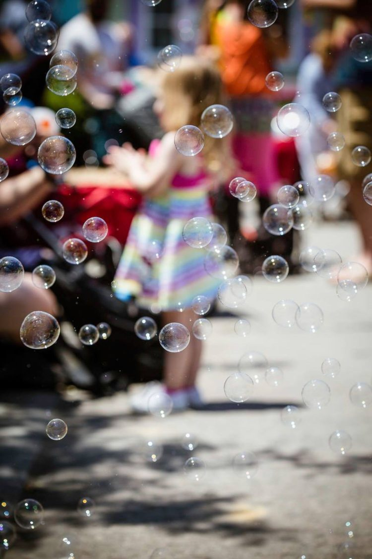 Bubble Parade In Baltimore | Uncustomary