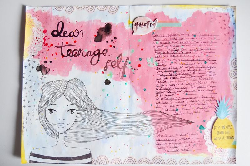 Self Love Prompts: If I Could Give My Teenage Self Some Advice | Uncustomary