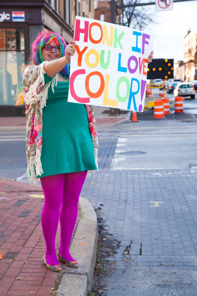 Honk If You Love Color | Uncustomary