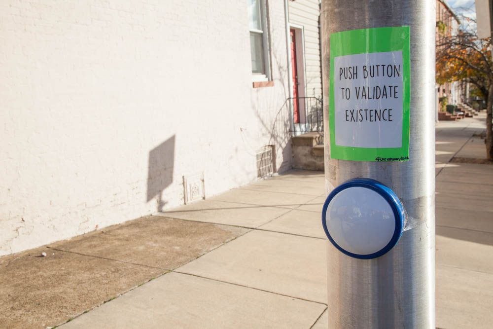 Street Art Portal Buttons | Uncustomary
