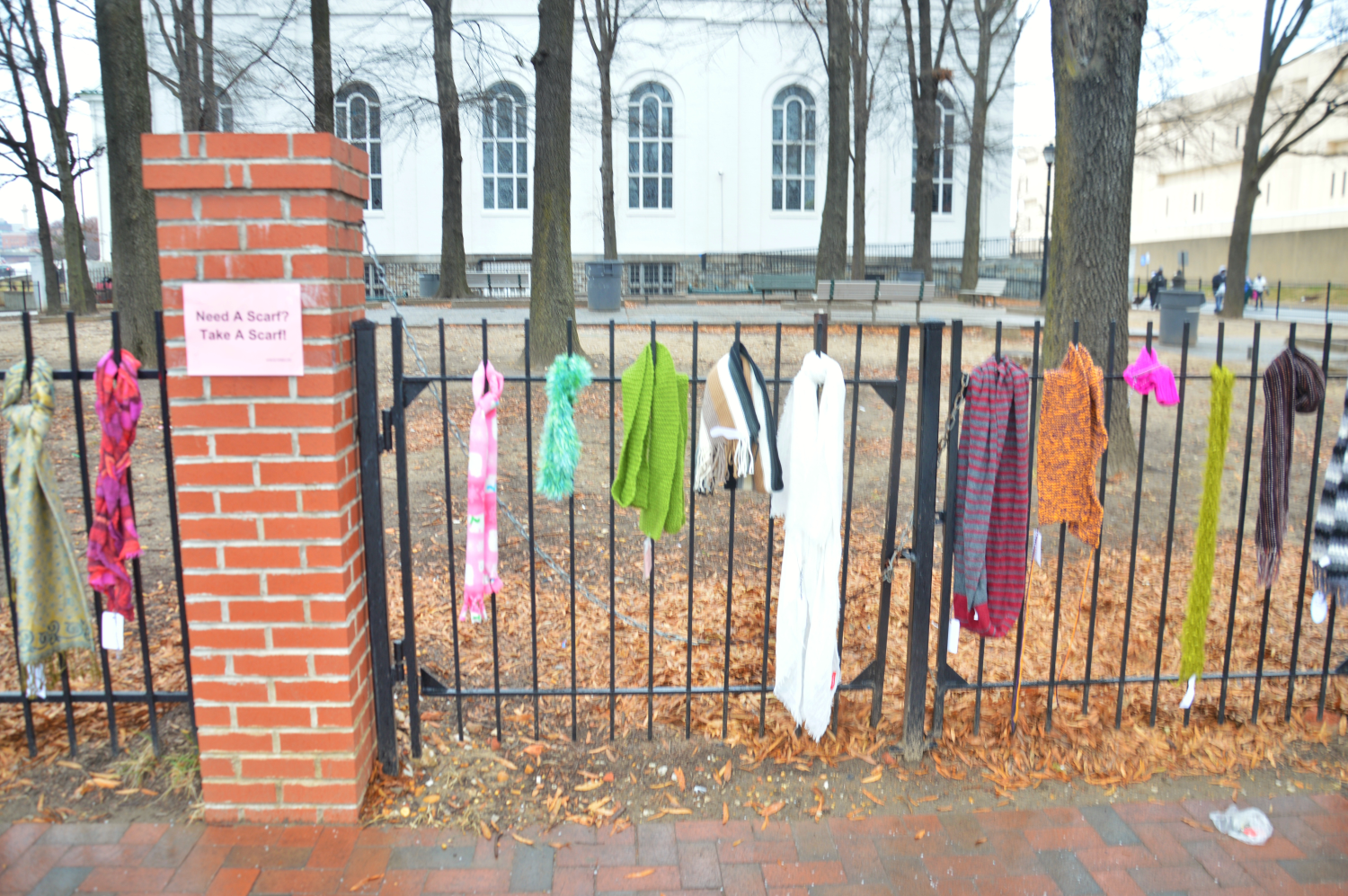 Baltimore Scarf Abandonment | Uncustomary