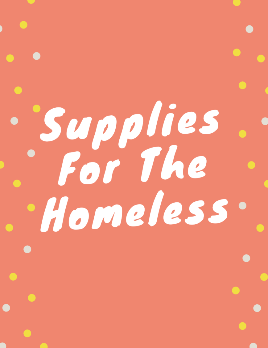 How To Make Packages For The Homeless | Uncustomary