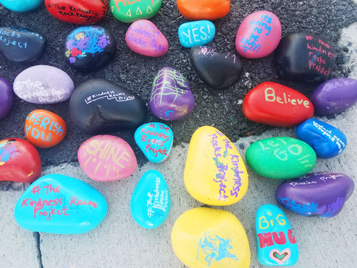 Kindness Rocks Project [Baltimore] | Uncustomary