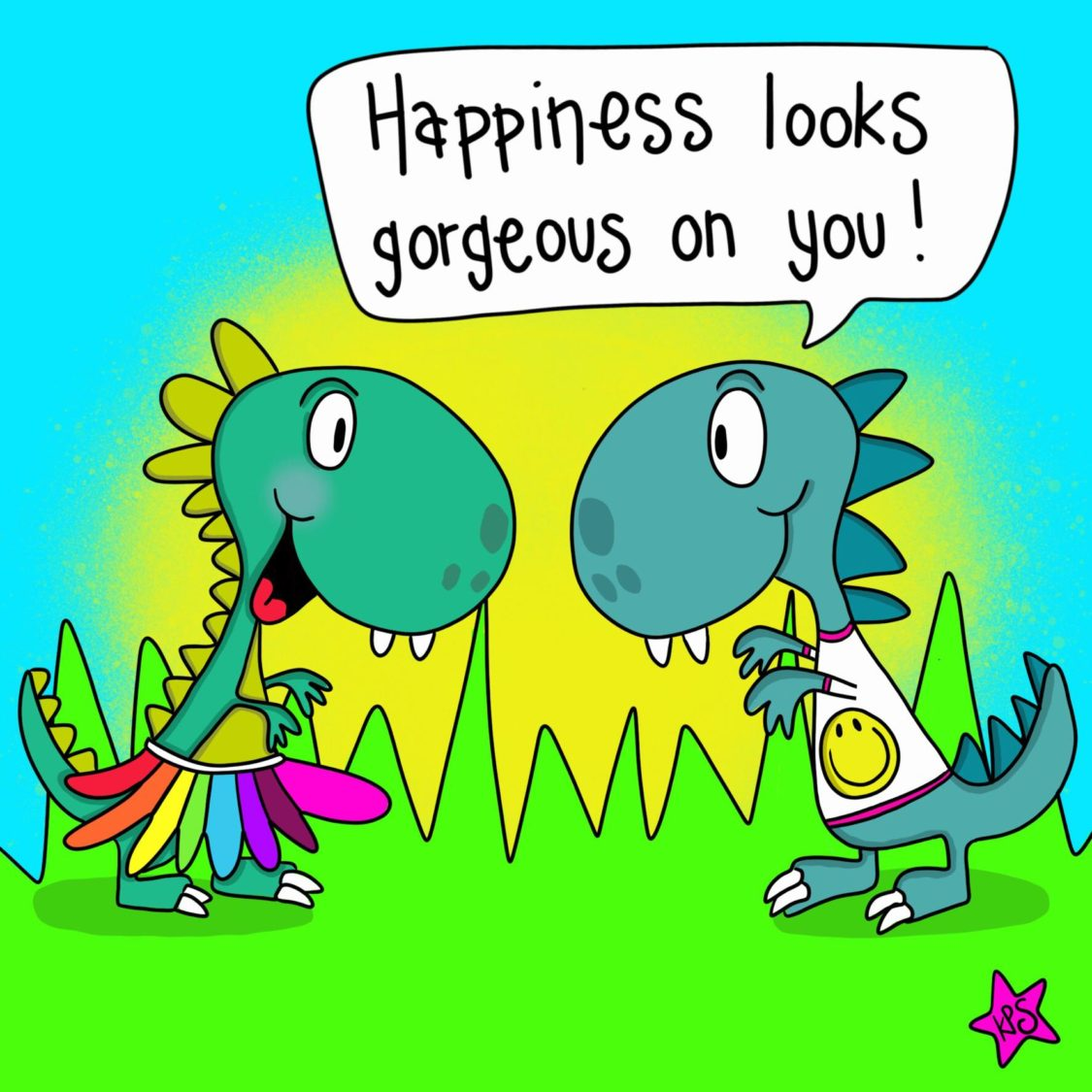 Happiness Looks Gorgeous On You | Uncustomary