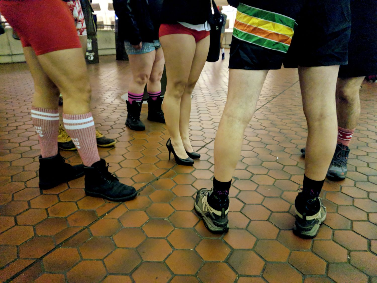 No Pants Subway Ride DC 2019 | Uncustomary
