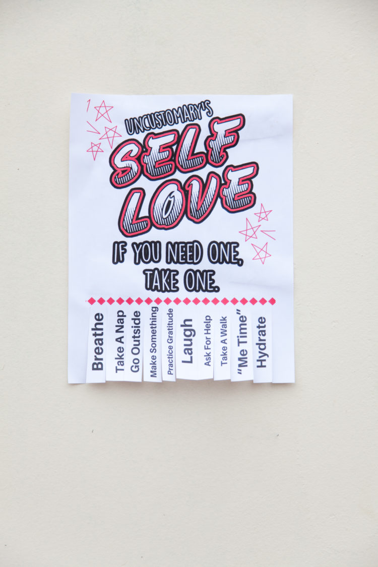 Self-Love Flyers | Uncustomary