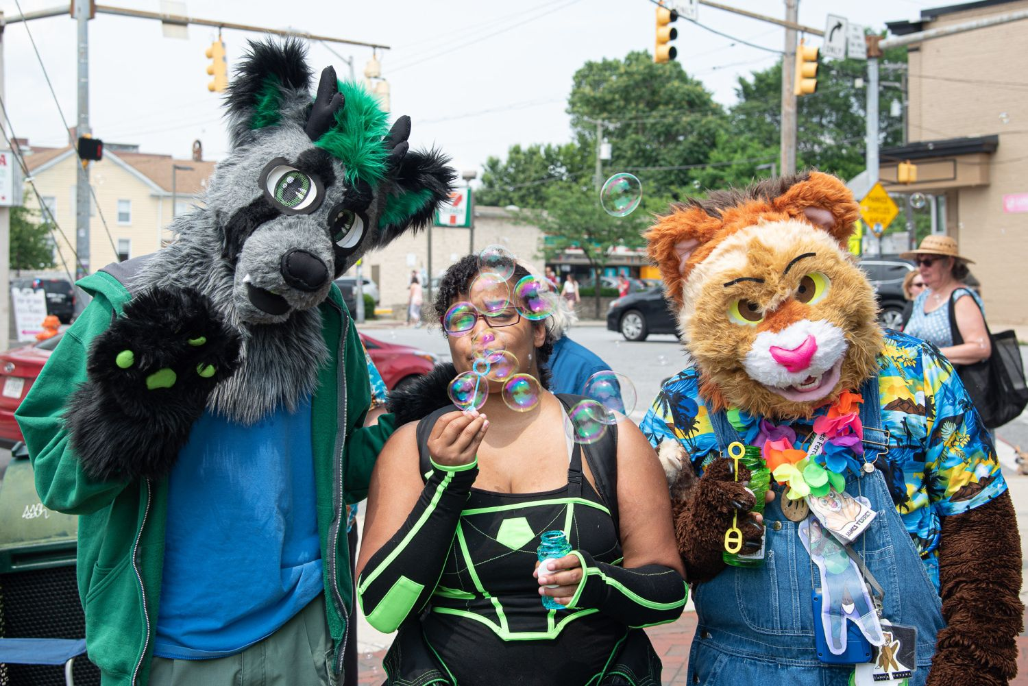 5th Annual Bubble Parade In Baltimore | Uncustomary