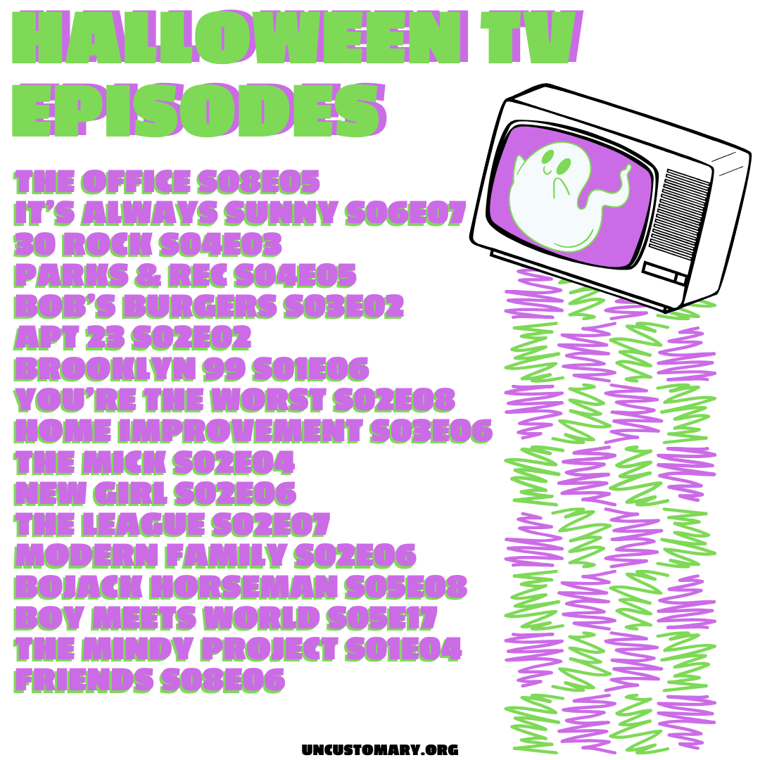 Halloween TV Episodes | Uncustomary