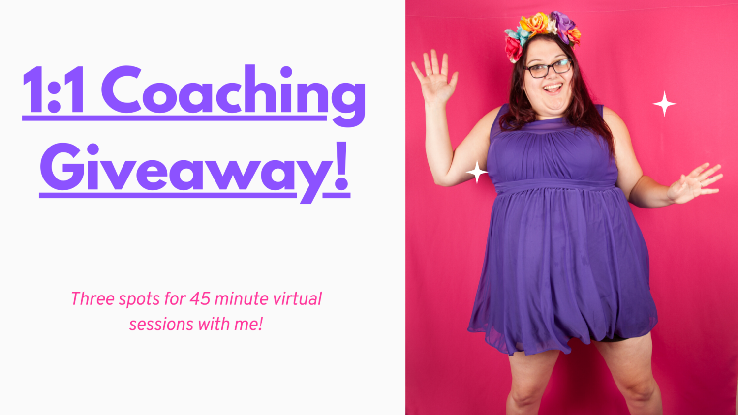 1:1 Coaching Giveaway For COVID-19 | Uncustomary