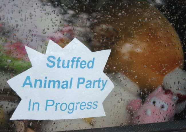 Stuffed Animal Sleepover | Uncustomary Art
