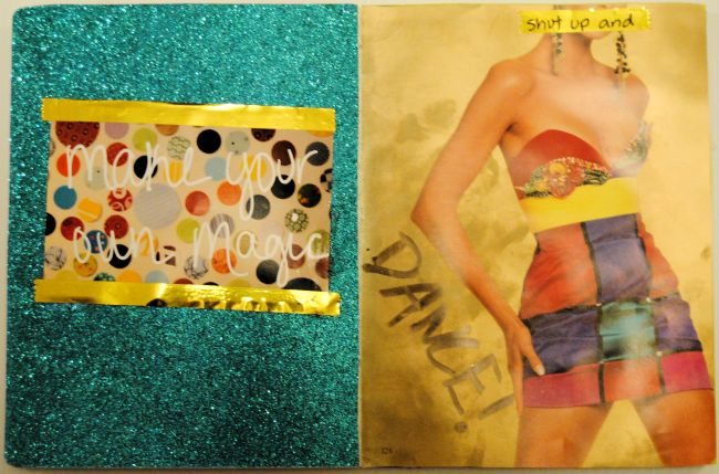 Get Messy Art Journal | Uncustomary Art