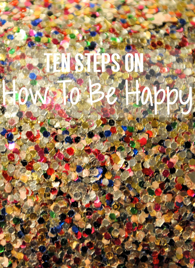 How To Be Happy | Uncustomary Art