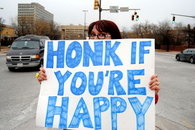 Honk If You're Happy | Uncustomary Art