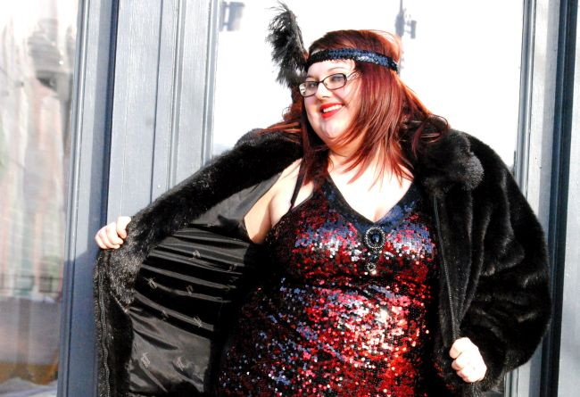 Not-So-Flat-Chested Flapper: Plus Size Lingerie Boutique | Uncustomary