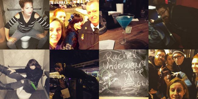 Bar Crawl Scavenger Hunt | Uncustomary Art