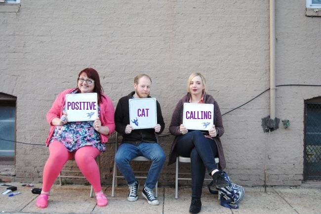 Positive Catcalling | Uncustomary Art