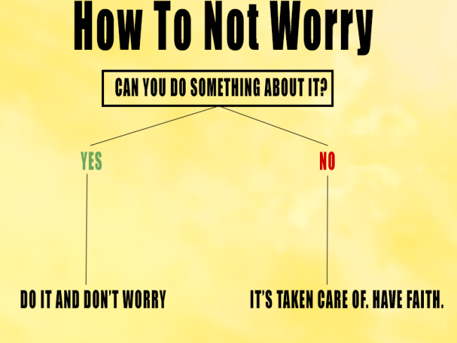 How To Worry Less | Uncustomary Art