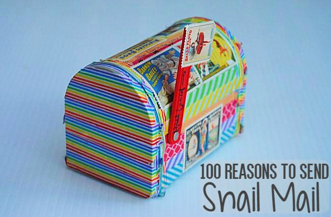 100 Reasons To Send Snail Mail | Uncustomary Art