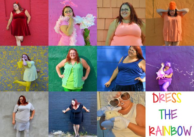 Dress The Rainbow | Uncustomary Art
