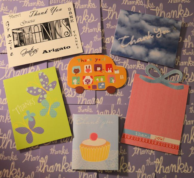 100 Reasons To Write Thank You Notes   Uncustomary Art