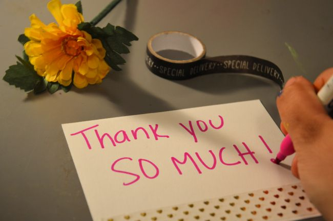 100 Reasons To Write Thank You Notes | Uncustomary Art