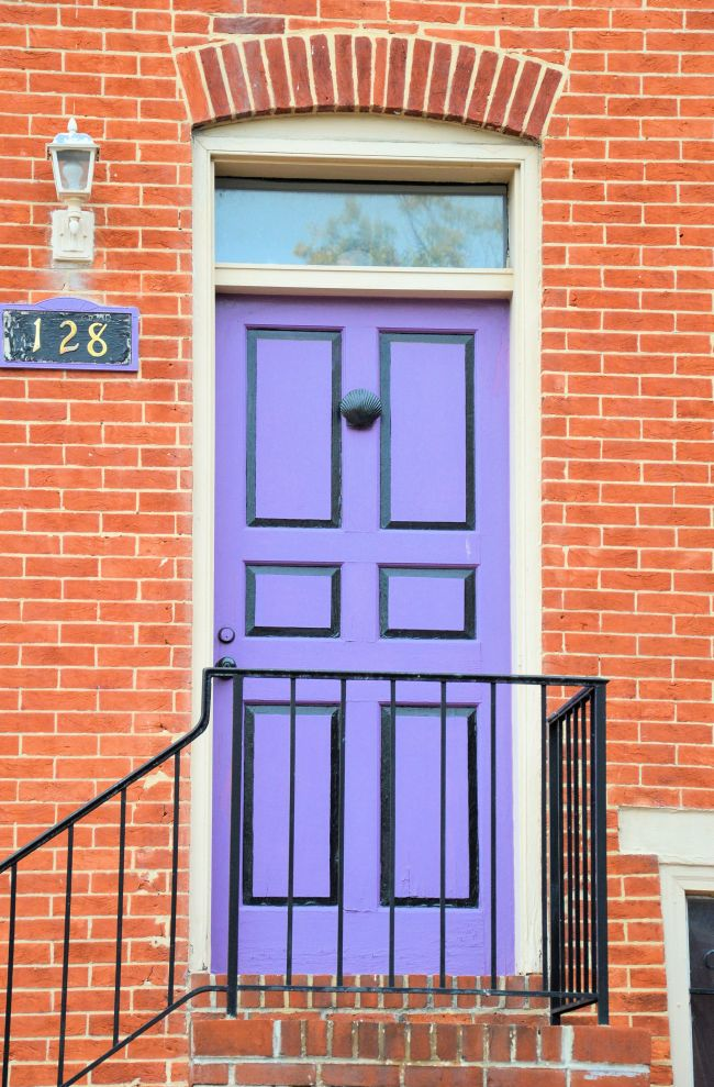 Rainbow Doors In Baltimore | Uncustomary Art  sc 1 st  Uncustomary & Rainbow Doors In Baltimore | Uncustomary