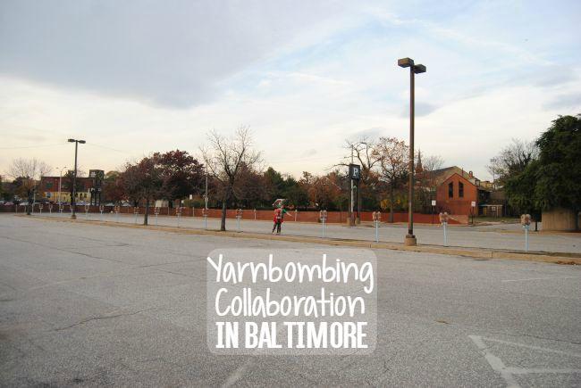 Yarnbombing Collaboration In Baltimore | Uncustomary Art
