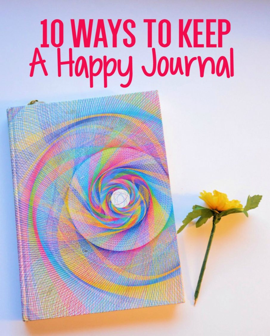 10 Ways To Keep A Happy Journal | Uncustomary