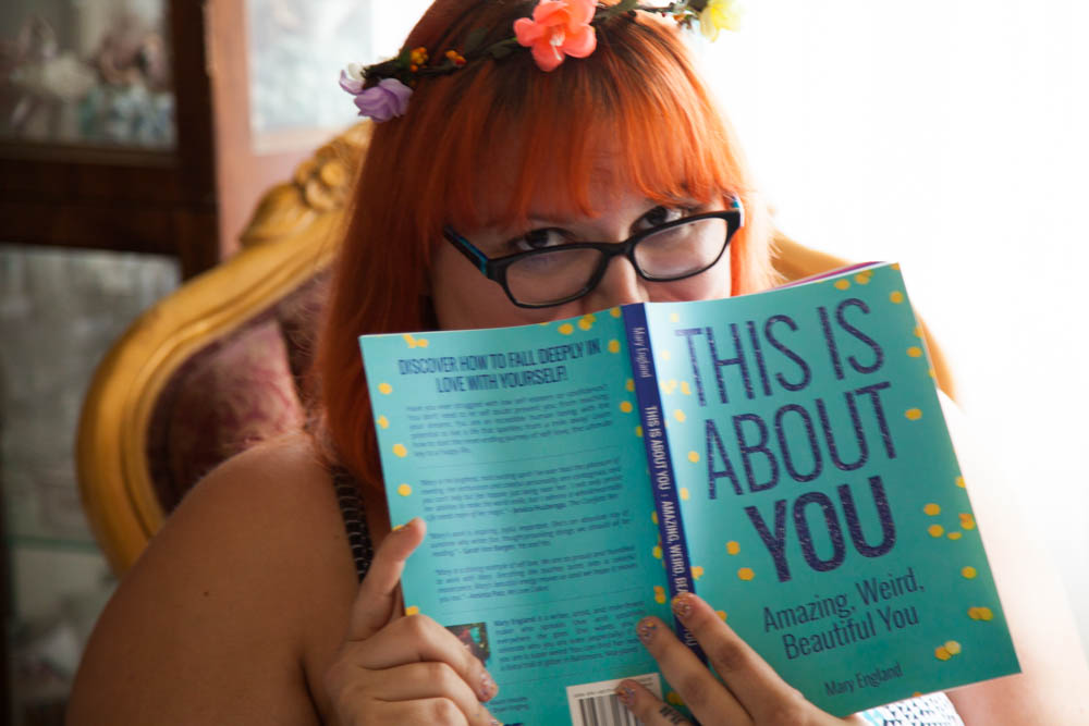 This Is About You Amazing Weird Beautiful You Self Love Book - Uncustomary Mary England