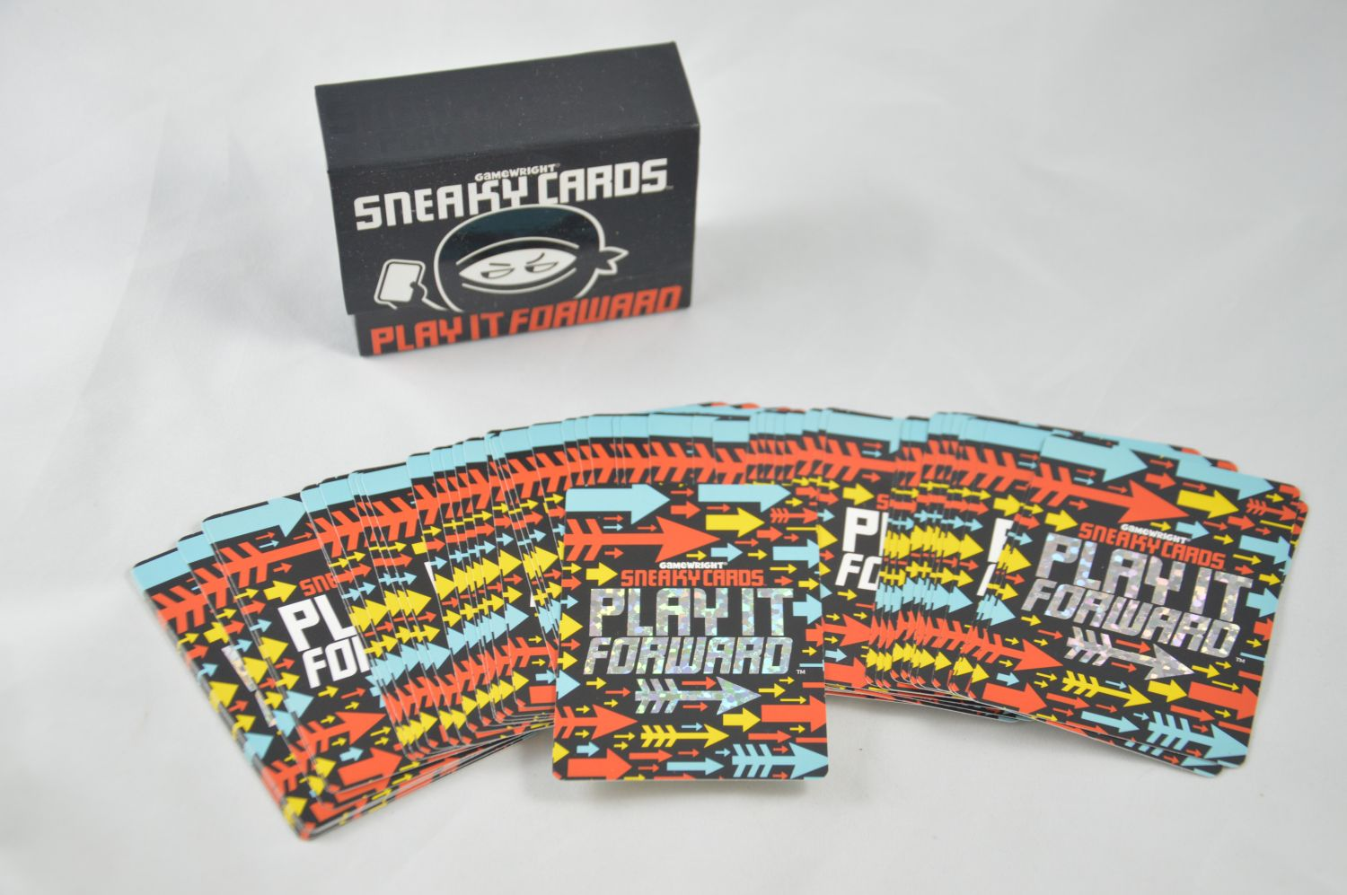Sneaky Cards: Play It Forward   Uncustomary