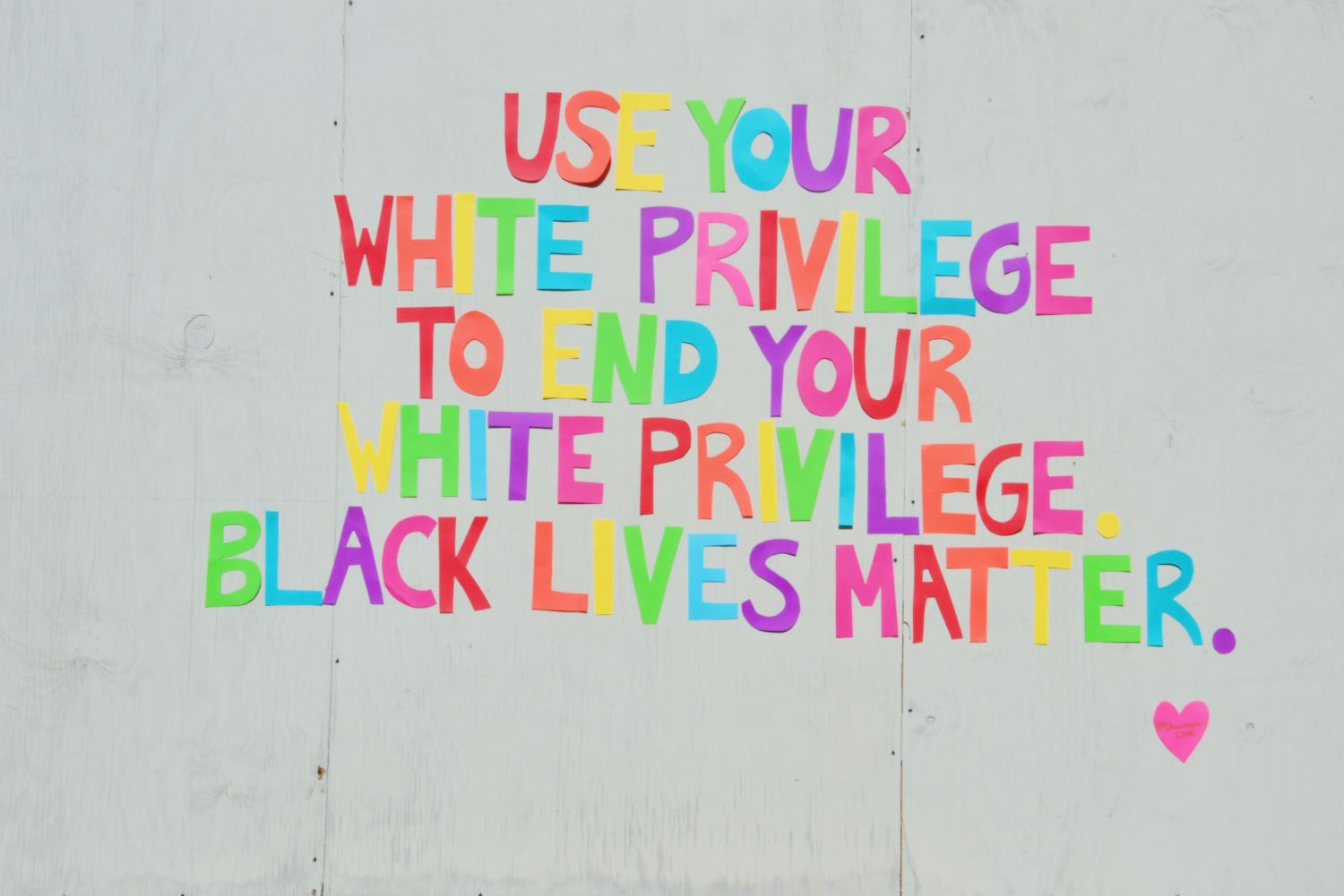Use Your White Privilege To End Your White Privilege | Uncustomary