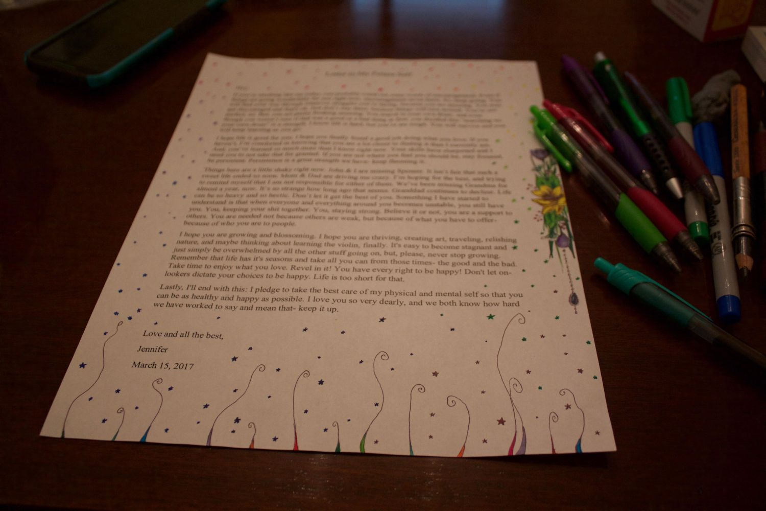 Write A Letter To Your Future Self | Uncustomary