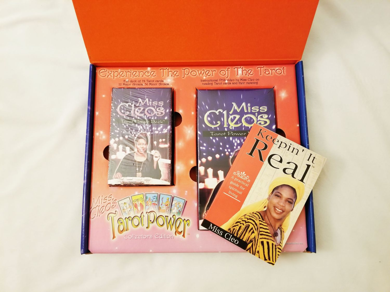 Miss Cleo Tarot Card Deck Giveaway | Uncustomary