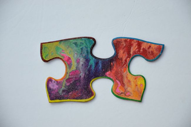 Puzzle Art Project | Uncustomary Art